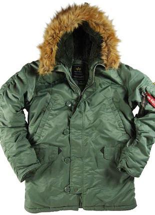 Куртка alpha industries n-3b parka.