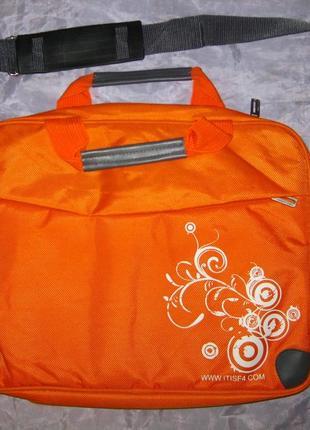 Новая фирменная сумка itisf4 (оригинальная) для ноутбука, планшета + органайзер