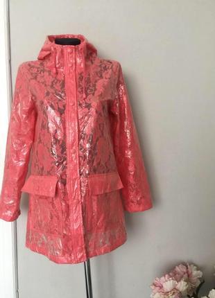 Красивый непромокаемый дождевик, куртка