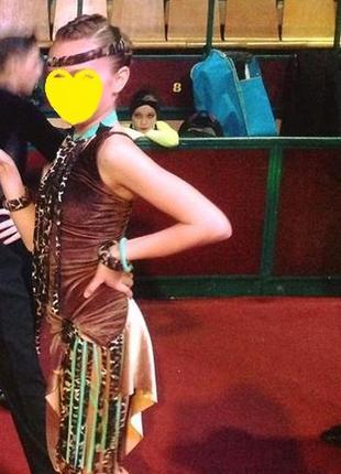 Платье конкурсное латина юниоры1