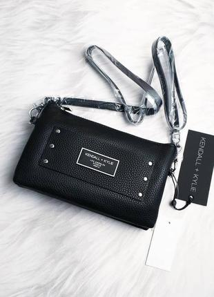 Kendall+kylie оригинал маленькая сумочка кроссбоди черная
