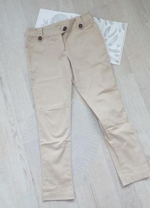 Стильные чиносы брюки штаны  базовые беж