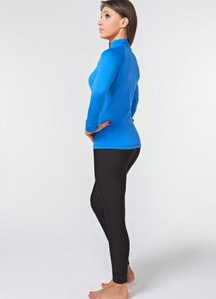 Женское спортивное/лыжное термобелье radical acres, теплое зимнее комплект сине-черое