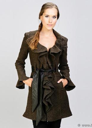 Шерстяное пальто rinascimento размер s
