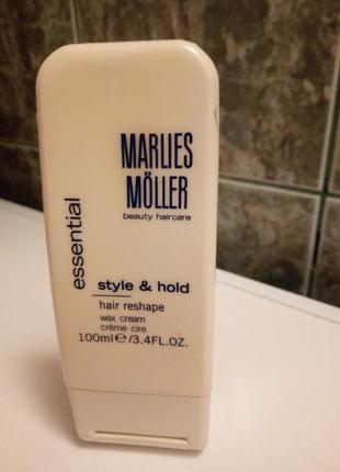 Крем-воск для укладки marlies moller