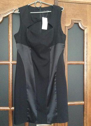 Платье-футляр нарядное, деловое, вечернее. размер м.