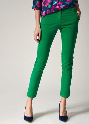 Отличные зелёные штаны от kookai