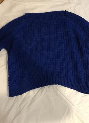 Классный короткий свитер