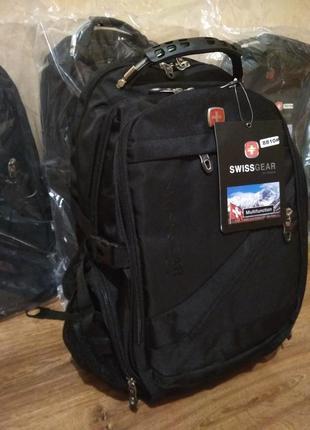 Рюкзак swissgear 8810 дождевик аудио usb кабель в комплекте2 фото