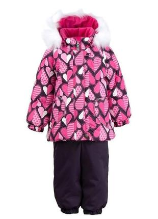 Зимний комплект lenne для девочки 98