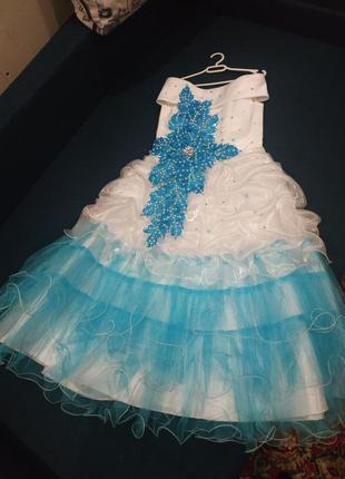 Шикарное платье+ болеро+подарок