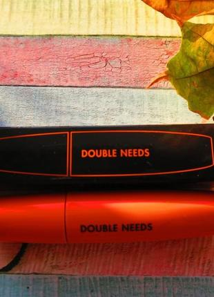 Удлиняющая тушь для ресниц tony moly double needs pang pang mascara volume #3