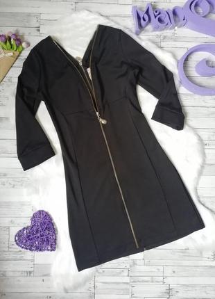 Платье elite черное с регулирующими молниями