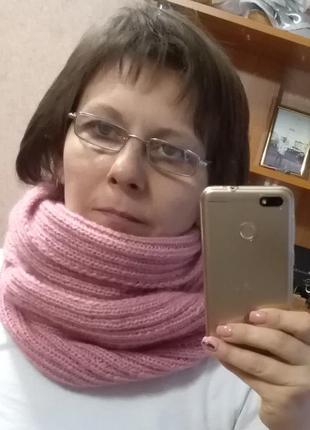 Шикарный и теплый снуд, хомут, шарф разные цвета