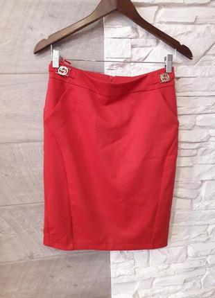 Яркая юбка карандаш женская