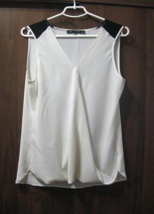 Майка блузка rose&oline белая молочная