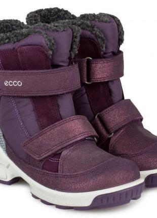 Зимние сапоги ботинки ecco biom hike infant 29 р