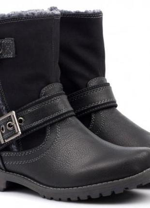 Ботинки на молнии демисезонные, бренд plato новые р. 36