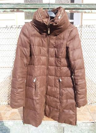 Зимняя куртка / пальто / плащ / пуховик zara