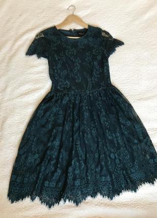 Новогоднее платье mohito collection