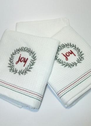 Кухонні рушники, рушнички, новорічні подарунки, полотенца