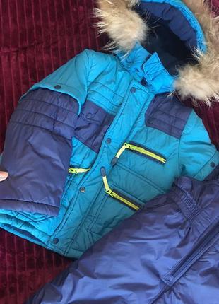 Зимний комбед и курточка , зимняя курточка , зимний костюм , а меняя куртка