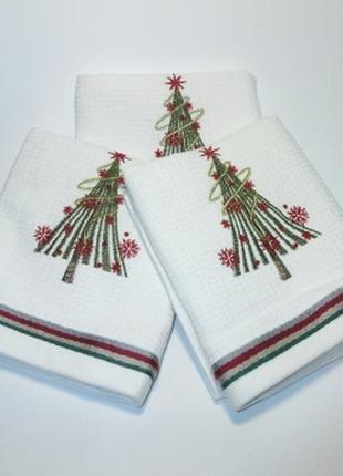 Кухонні рушники, рушник, новорічні подарунки, полотенце
