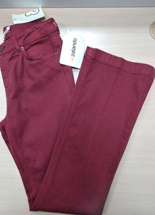 Джинсы, брюки, женские, клеш, размер 44