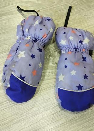 Thinsulate зимние варежки утепленные, перчатки, рукавицы
