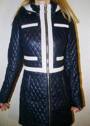 Куртка qarlevar демисезонная удлиненная