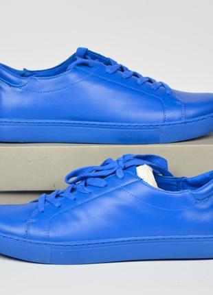 Kenneth cole reaction joey blue кроссовки натуральная кожа оригинал