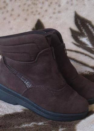 Rohde sympatex германия! фирменные утепленные ботиночки 35.5-36 р.