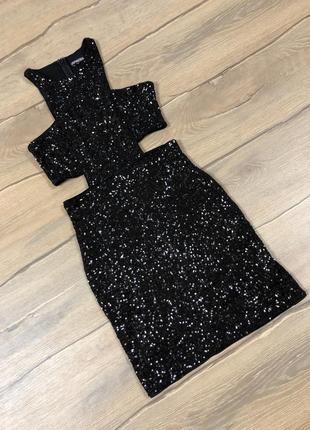Шикарное мини платье