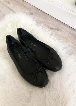 Балетки туфли чёрные marco tozzi