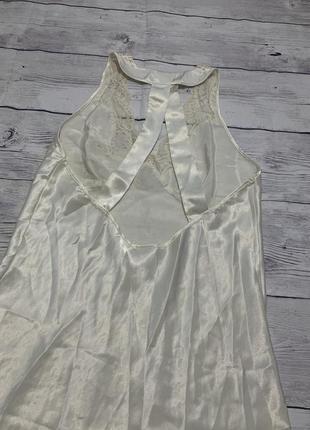 Будуарное платье,комбинация атласное платье,красивая спинкa