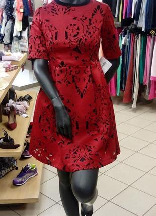 Платье, вечернее, коктейльное, женское, размер s