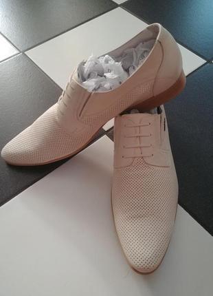Кожаные туфли vitto rossi лето