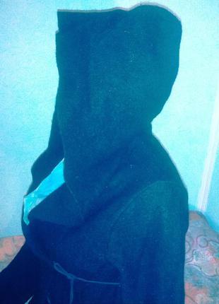 Отличная теплая  кофта-кардиган с капюшоном,46-50разм