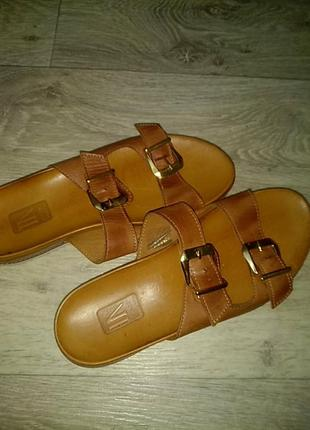 Сабо,шлепки сандалии натуральная кожа