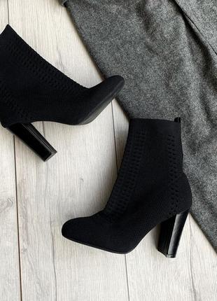 Ботинки -носки черевики anna field