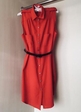 Платье-рубашка , размер м-л
