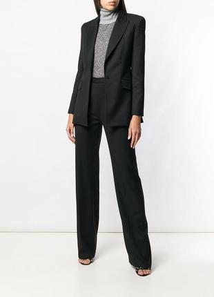 Классические черные прямые брюки со стрелками spring fashion (украина)