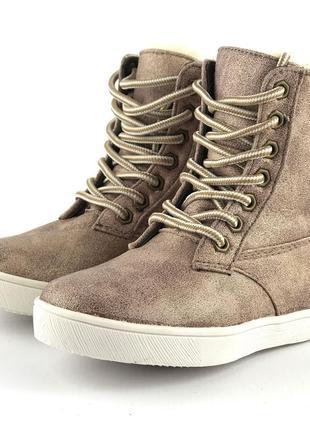 Утепленные ботиночки девочкеfriboo