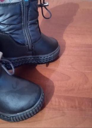 Ботинки 3имние.