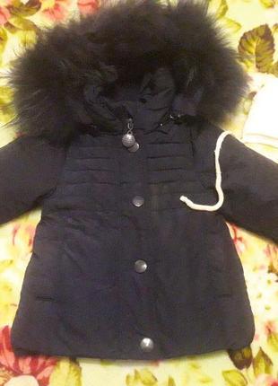 Куртка для девочки 6-9месяцев