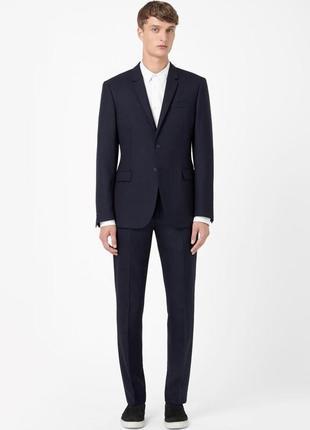 Мужской шерстяной пиджак cos 229197