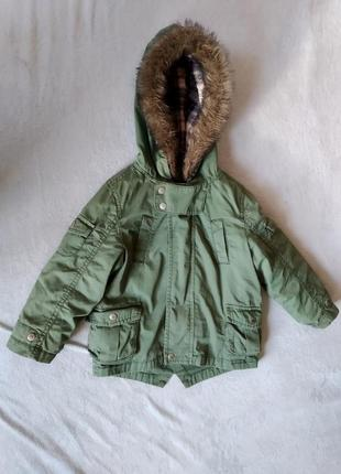 Парка, куртка, плащ демисезонный 98р.
