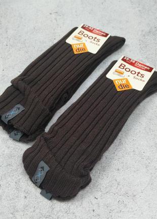 35-38, 39-42 теплые носки в ботинки nur die
