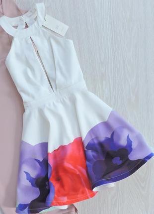 Шикарное платье с пышной юбкой
