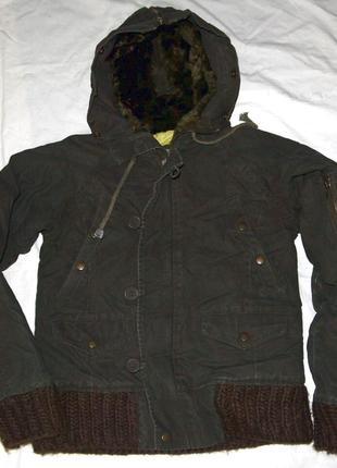 Куртка милитари mu denim